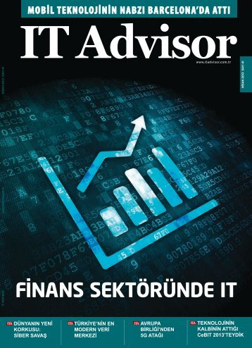 Nisan 2013 Sayı 41 - IT Advisor