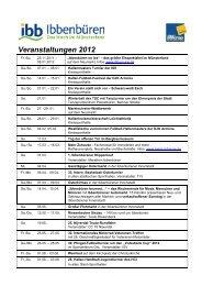 Veranstaltungen 2012 in Ibb - Stadtmarketing und Tourismus in ...