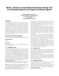Wíinik: Towards an Agent-Based Simulation Design Tool for ...