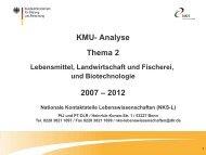Analyse KMU Thema 2 - Nationale Kontaktstelle ...