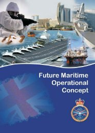 Future Maritime Operational Concept - Defence Academy of the ...