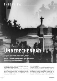 Leseprobe Orchester 11_07 - Das Orchester