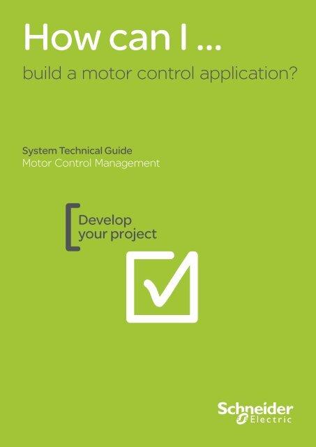 build a motor control application? - Schneider Electric CZ