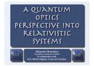 relativistic_talk - Controlled Quantum Dynamics Group
