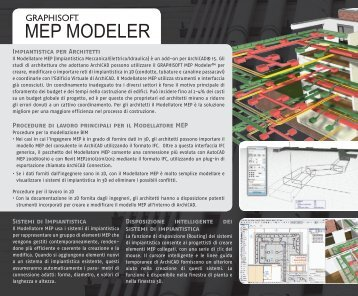 Sistemi di Impiantistica Disposizione intelligente dei sistemi di ...