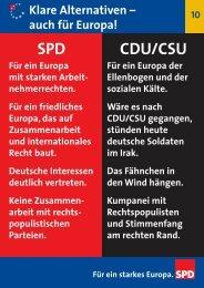 auch für Europa! - SPD Dortmund