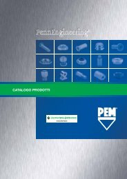 catalogo prodotti - Penn Engineering & Manufacturing Corp.