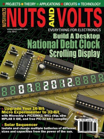 Nuts and Volts - July 2012