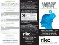 Download Registration Form - Rehabilitation Institute of Kansas City