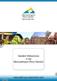 Mehr erfahren - Metropolregion Rhein-Neckar
