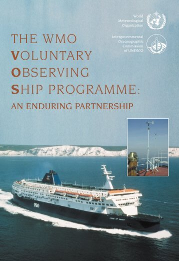 the wmo voluntary observing ship programme - (IMD), Pune