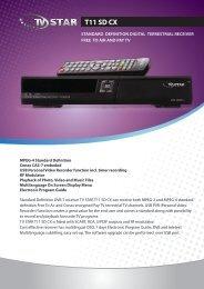 T11 SD CX - TV STAR