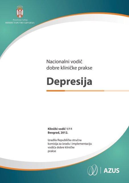 Vodic za dijagnostikovanje i lecenje depresije