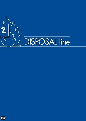 DISPOSAL line - Düperthal Sicherheitstechnik GmbH & Co. KG