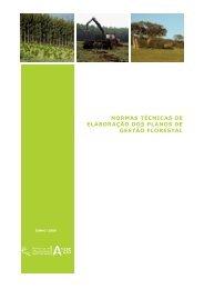 normas técnicas de elaboração dos planos de gestão florestal - ICNF