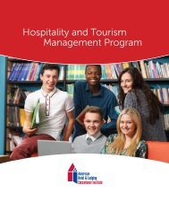 HTMP - American Hotel & Lodging Educational Institute