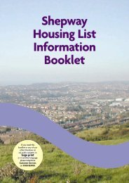 Shepway Housing List Information Booklet - Shepway District Council