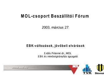 pdf formátumban (436 kB) - Mol