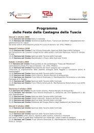 Castagna - Agriturismo e bed and breakfast in Italia