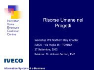 Information Systems & e-Business - PMI-NIC