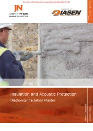 Insulation and Acoustic Protection - BD Online Product Search
