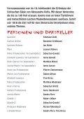 Programmheft zur Aufführung des Stücks Frankenstein - La Vita - Seite 6