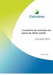 Inventário de emissões de gases de efeito estufa ano ... - Eletrosul