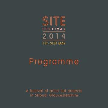 Site 2014 Programme