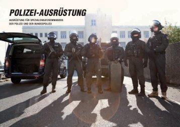 POLIZEI-AUSRÜSTUNG