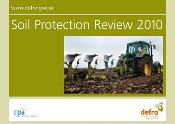 Soil Protection Review 2010.pdf - The Rural Payments Agency - Defra