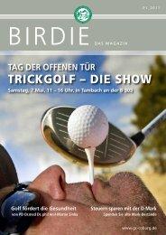 birdie 01_2011 (pdf 4 mb) - Golf-Club Coburg Schloss Tambach eV