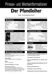 Der Pfandleiher - AV-Film GmbH