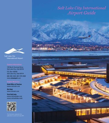 International Airport Guide - Salt Lake City International Airport
