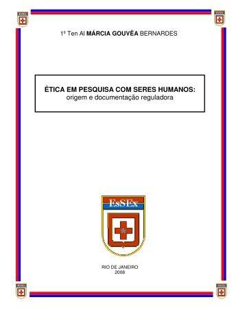 ÉTICA EM PESQUISA COM SERES HUMANOS - Escola de Saúde ...