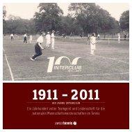 Ein Jahrhundert voller Teamgeist und Leidenschaft ... - Swiss Tennis