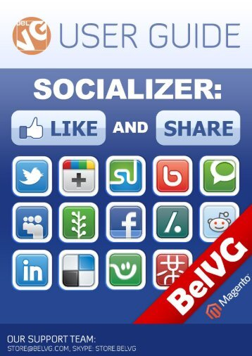 Socializer: Like and Share User Guide - BelVG Magento Extensions ...