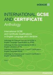 UG026701 International GCSE Anthology - English Lang (spec A) English Lit Issue 2 for web_040413