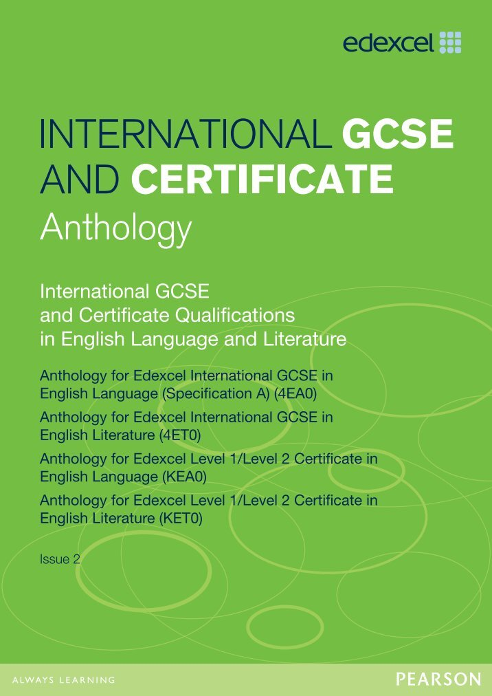 poetry essay gcse english