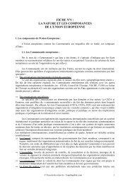 la nature et les composantes de l'union europeenne - Canalblog
