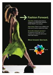 Fashion Forward. - Pantone