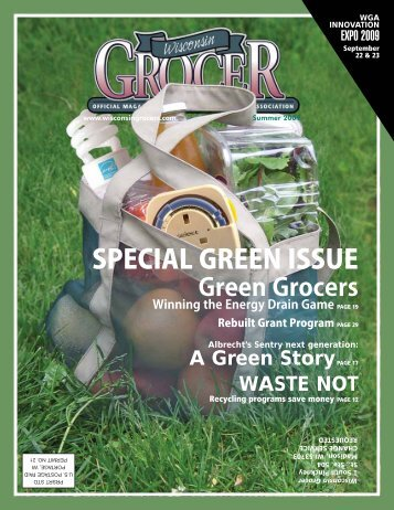 SPECIAL GREEN ISSUE - Wisconsin Grocers Association
