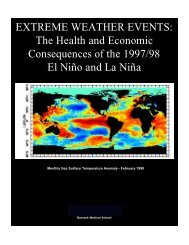 EXTREME WEATHER EVENTS: The Health and Economic ...