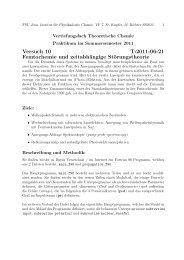 Versuch 10 T:2011-06-21 Femtochemie und zeitabhängige ...
