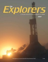 The Explorers, an annual publication from Petroleum News $1.95