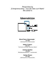 Muster-Ideenskizze - TU Berlin