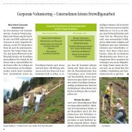 Corporate Volunteering – Unternehmen leisten ... - Bergwaldprojekt