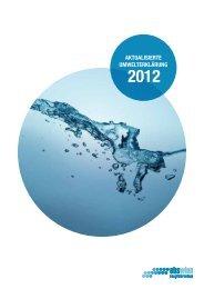 Aktualisierte Umwelterklärung 2012 - ebswien Hauptkläranlage