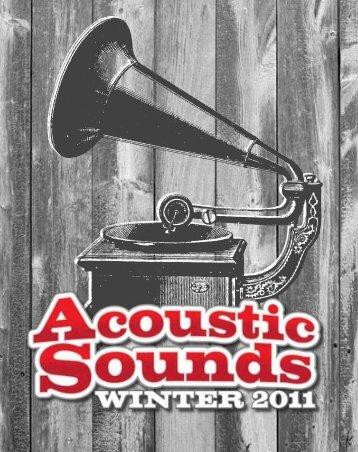 """9 ÊUÊ7 - Ê9""1Ê7 , Ê , ÊUÊ - Acoustic Sounds News"