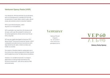 Download brochure here - Venturer