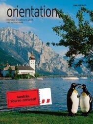 orientation. - Austrian National Tourist Office